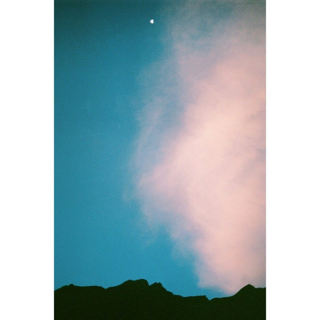 ネパールの山と朝の月 . . #nepal  #trip #travel #film #35mm #moon #landscape #landscapephot...