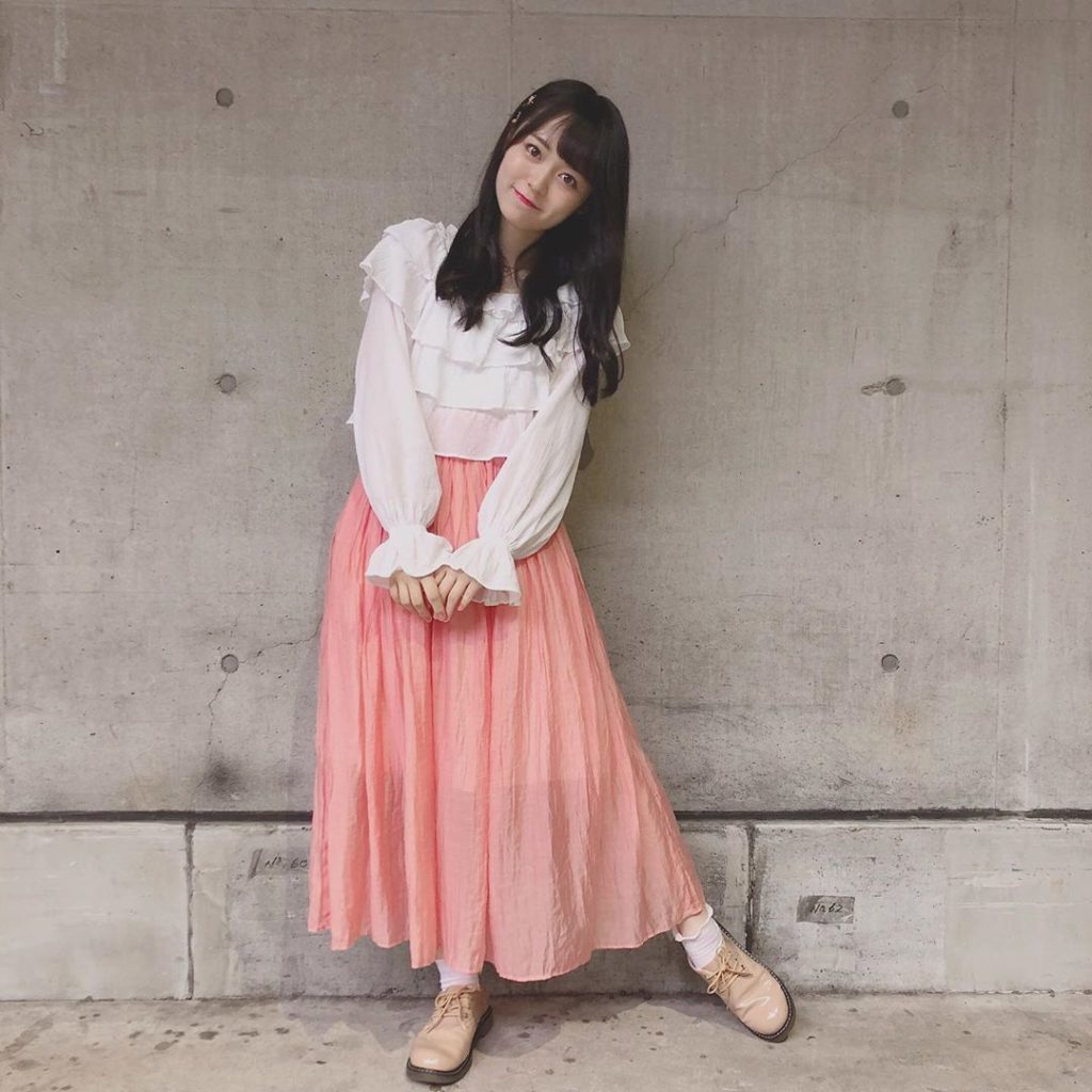 今日の私服〜 . . tops:NICECLAUP skirt:Heather sox:tutuanna shoes:raycassin...